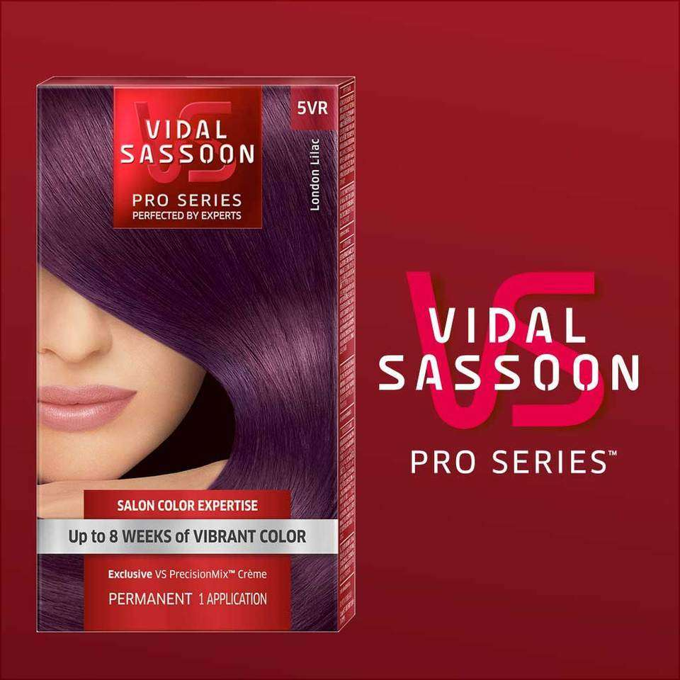 Vidal Sassoon Pro Series London Luxe Hair Color 5vr London Lilac 1