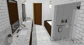 Home Designer Professional 2015 Master Bath