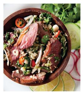 Laotian Duck Salad