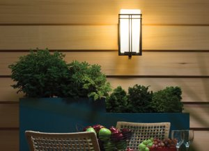 Kichler lighting 49200bk tremillo 12 inch light outdoor wall 49201bk outdoor aloadofball Images