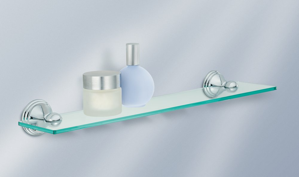 rail amara bathroom towel in designer ikea cm attractive wall shelves shelf amazing chrome storage throughout with kalkgrund styles plated