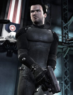Game hero Jason Fleming from Shadow Complex
