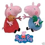 Ty Peluche - Peppa Pig e George Pig Peppa Pig