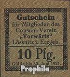 billetes para coleccionistas: alemán Imperio artículo: Notgeld fuera Lössnitz en