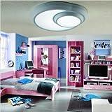 Moda Círculo Individual Lámpara de techo frío Casa minimalista Salón