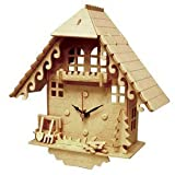 Cuckoo Clock 3D Wooden Puzzle by Wood Craft Assembly