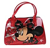 Disney Minnie Mouse Girls Red Lipstick Themed Bowling Handbag