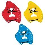 TYR - Palas de natación multicolor multicolor Talla:medium