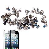 Tornillos Completo juego de tornillos para Reparación de iPhone 5(Black)