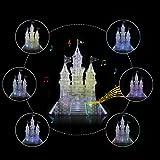 AISI 3d Crystal castillo bloques de alta desafío Puzzle Rompecabezas-3d