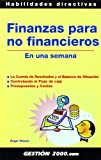 Finanzas para no financieros: En una semana
