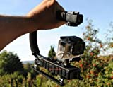 Asa Mango para GoPro Hero 34-Trípode profesional para cámara profesional