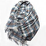 Chal Cachemira terciopelo algodón cáñamo seda enrejado cuadrado de tamaño