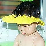 maltonyo17amarillo bebé niño baño de ducha de baño proteger tapa