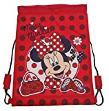 Disney Minnie Mouse Mad About Minnie - Bolsa con cuerdas
