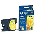 Brother LC1100Y - Cartucho de tinta amarillo (duración estimada: hasta