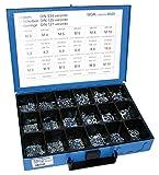 Dresselhaus 8543 - Estuche con tuercas, arandelas elásticas y arandelas