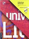 Literatura Universal 2º Bachillerato (Propuesta Didactica) (Zoom)