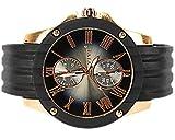 Super Sports Black Barracuda elegante difíciles Reloj de pulsera en