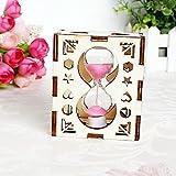 LQK-Amor de regalos madera artesano reloj de arena regalos creativos,