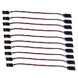 NEEWER ® 10pcs 150mm Servo Extension Lead Cable Cable Por