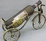 GXS Vino antiguo bicicleta botellero botellero bastidor pintado moto