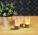 Juego de 3(= 3pieza) romántica suavemente vivos LED Velas/LED Wind