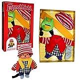 8 piezas. Conjunto Monchhichi ropa de muñeco de lana ropa