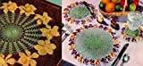 Flores e frutas malha Doilies parte dois (Portuguese Edition)