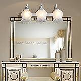 midtawer Baño moderno Continental espejo luces led luces LED luces,
