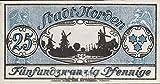 billetes para coleccionistas: alemán Imperio artículo: Notgeld el ciudad NORDEN