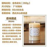 Románticas velas grandes manualmente la fragancia de velas velas para