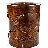 CLHK Los ornamentos chinos animales de madera tallados a mano