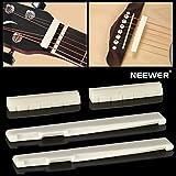Neewer® 2 Sets De Guitarra Acústica De 6 Cuerdas Puente