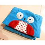 HuntGold Cartoon Baby Wickeltisch Infant Warmer Schlafsack Abdeckhaube Wrapping Bettdecke(Eule)