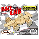 Puzzled Formula 1 3D Natural Wood Puzzle (91 Piece) by