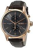 Hugo Boss-1513283-Jet-Reloj Hombre-Cuarzo Analógico-Esfera Azul-Pulsera