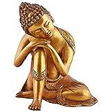 Estatua budista grande Latón Estatua de Buda - Dormir Escultura
