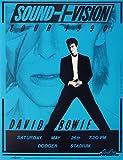 David Bowie fotos de un concierto Posters vigorosamente 40x 30cm