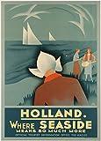 Holanda Donde Mar significa mucho más, Reproducción sobre Calidad 200gsm