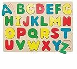 PUZZLE Legespiel caso alfabeto ABC JUEGO DE MADERA Juguetes de