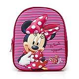 Minnie Mouse Mochila escolar 3D infantil, bolso de escuela niña
