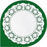 """Thali Outlet-blanco 4,5""""papel Doleys-250unidades-ideal para pasteles sándwiches presentación platos bodas"""