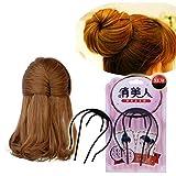 XYXY Cosmética para salón pelo dona esponja barras del pelo