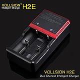 Bazaar VOLLSION H2E canal de cargador de batería inteligente dual