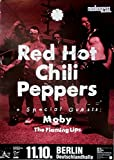 Red Hot Chili Peppers-1995-Póster de concierto-Póster de concierto-Tour Póster-Berl
