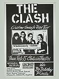 The Clash fotográfico de nachdruck un concierto Posters 40x 30cm