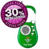 Productos Oficiales - Radio portatil mosquetón real betis