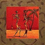 Impresión de Arte Fino en lienzo: Sun Tribe I by