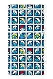 Maxi & Mini-Los Pitufos sábana bajera 90x 200cm 100% algodón